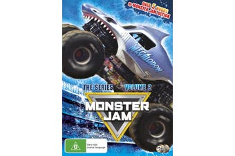Monster Jam The Series Volume 2 DVD Region 4