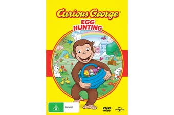 Curious George Egg Hunting DVD Region 4