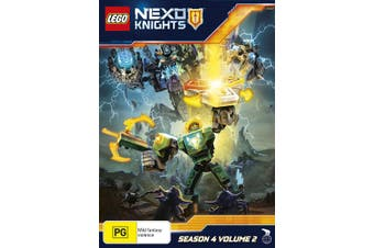 LEGO Nexo Knights Season 4 Volume 2 DVD Region 4