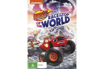 Blaze and the Monster Machines Race to the Top of the World DVD Region 4