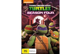Teenage Mutant Ninja Turtles Season 4 DVD Region 4