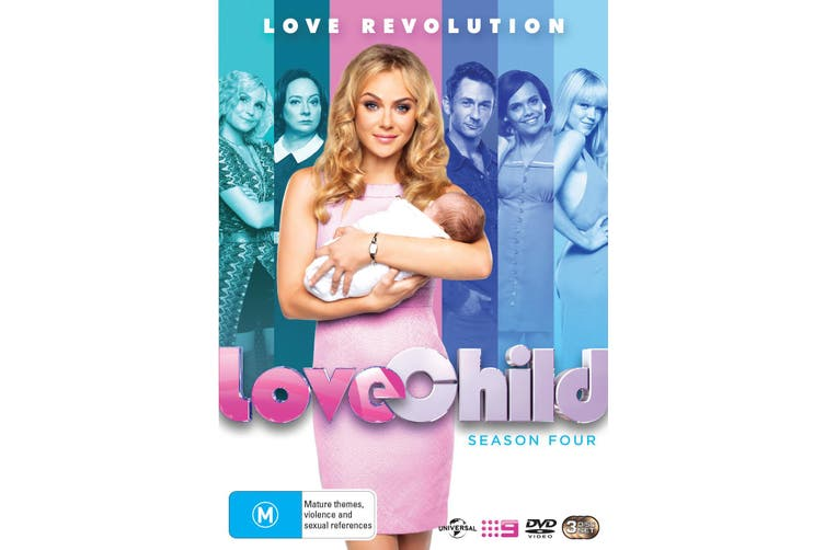 Love Child Season 4 DVD Region 4