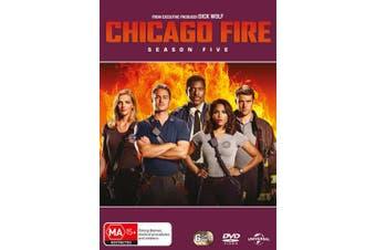 Chicago Fire Season 5 Box Set DVD Region 4