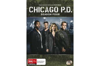 Chicago PD Season 4 DVD Region 4