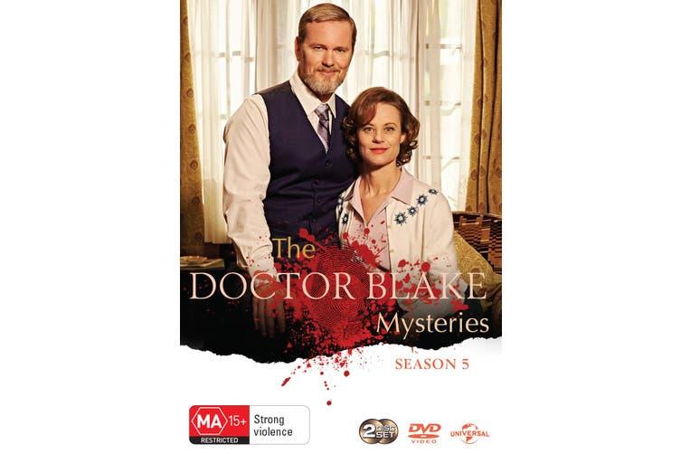 The Doctor Blake Mysteries Season 5 DVD Region 4