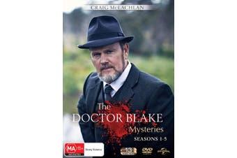 The Doctor Blake Mysteries Season 1-5 DVD Region 4