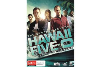 Hawaii Five 0 The Seventh Season 7 DVD Region 4