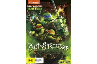 Teenage Mutant Ninja Turtles The Cult of Shredder Season 5 DVD Region 4