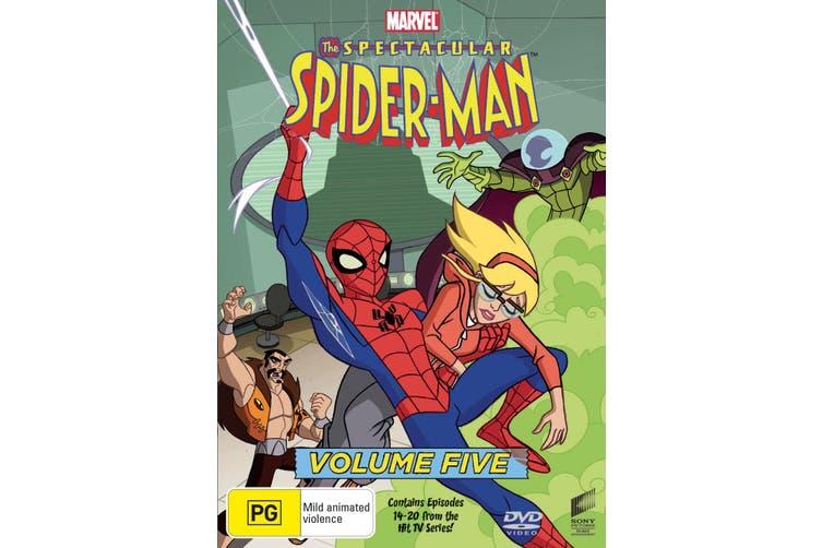 The Spectacular Spider Man Volume 5 DVD Region 4
