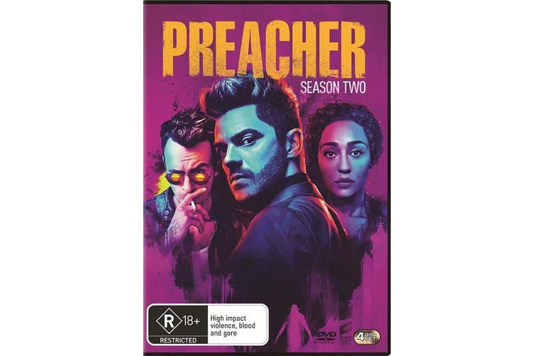Preacher Season 2 DVD Region 4