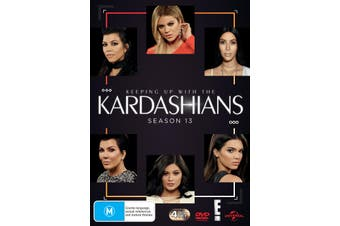 Keeping Up With the Kardashians Season 13 DVD Region 4