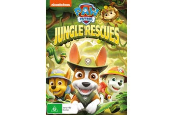 Paw Patrol Jungle Rescues DVD Region 4