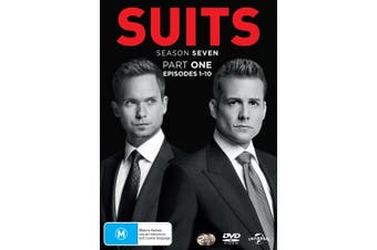 Suits Season 7 Part One DVD Region 4