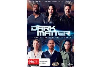 Dark Matter Complete Seasons One to Three DVD Region 4