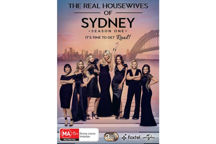 The Real Housewives of Sydney Season 1 DVD Region 4