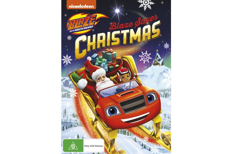 Blaze and the Monster Machines Blaze Saves Christmas DVD Region 4