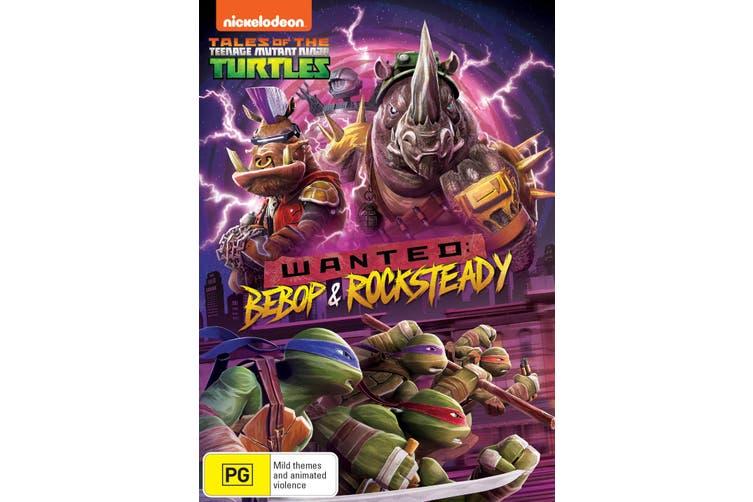 Teenage Mutant Ninja Turtles Wanted Bebop and Rocksteady DVD Region 4