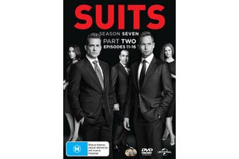 Suits Season 7 Part Two DVD Region 4