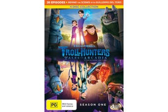 Trollhunters Tales of Arcadia Series 1 Box Set DVD Region 4