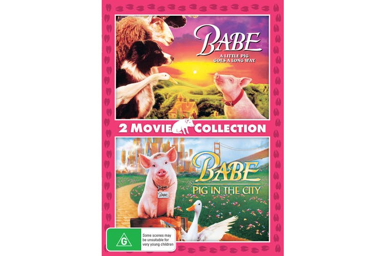 Babe / Babe Pig in the City DVD Region 4