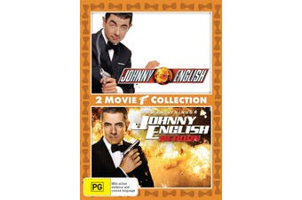 Johnny English / Johnny English Reborn DVD Region 4