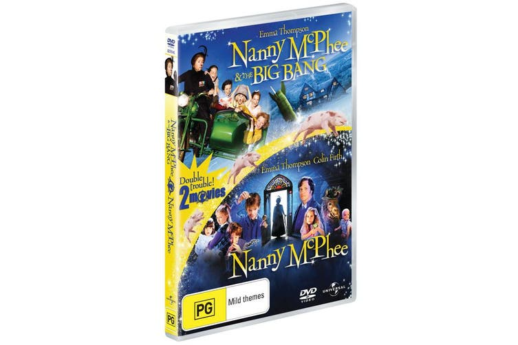 Nanny McPhee / Nanny McPhee and the Big Bang DVD Region 4