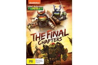 Teenage Mutant Ninja Turtles The Final Chapters DVD Region 4