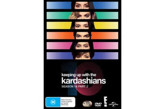 Keeping Up With the Kardashians Season 14 Part 2 Box Set DVD Region 4