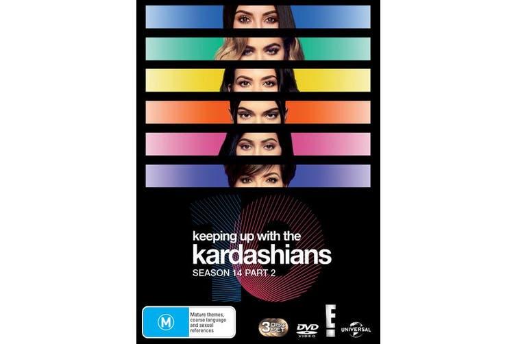 Keeping Up With the Kardashians Season 14 Part 2 Box Set DVD Region 4