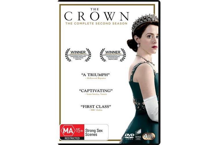 The Crown Season 2 Box Set DVD Region 4