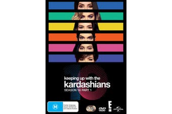 Keeping Up With the Kardashians Season 14 Part 1 Box Set DVD Region 4