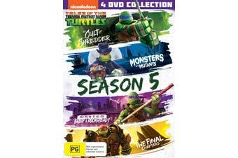 Teenage Mutant Ninja Turtles Season 5 Box Set DVD Region 4