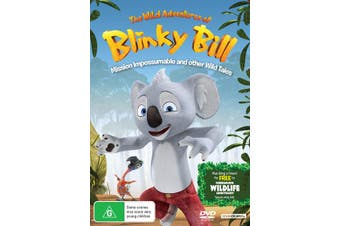 The Wild Adventures of Blinky Bill Mission Impossumable DVD Region 4