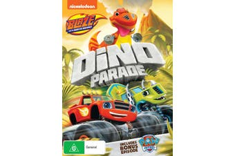 Blaze and the Monster Machines Dino Parade DVD Region 4