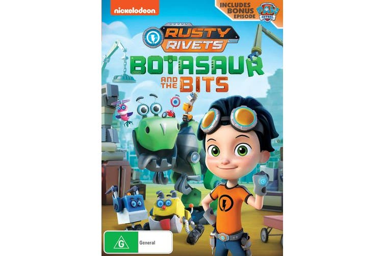 Rusty Rivets Botasaur and the Bits DVD Region 4