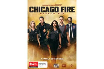 Chicago Fire Season 6 Box Set DVD Region 4