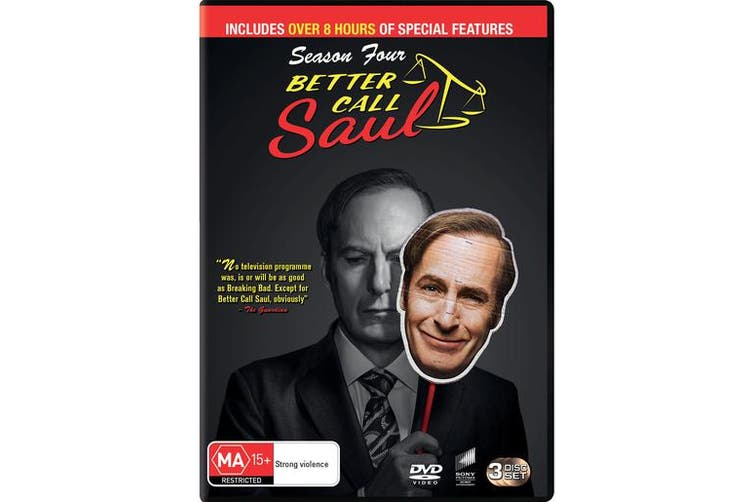 Better Call Saul Season 4 Box Set DVD Region 4