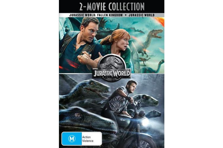 Jurassic World / Jurassic World Fallen Kingdom DVD Region 4