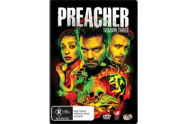 Preacher Season 3 Box Set DVD Region 4