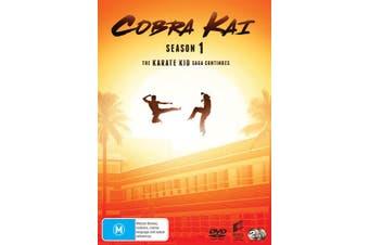 Cobra Kai Season 1 DVD Region 4