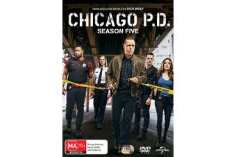 Chicago PD Season 5 Box Set DVD Region 4