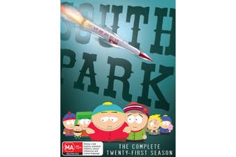 South Park The Complete Twenty First Season 1 DVD Region 4