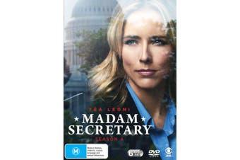 Madam Secretary Season 4 Box Set DVD Region 4
