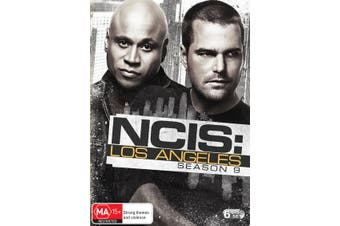 NCIS Los Angeles Season 9 Box Set DVD Region 4