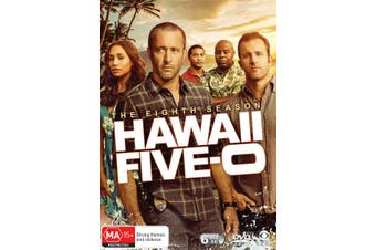 Hawaii Five 0 The Eighth Season 8 Box Set DVD Region 4