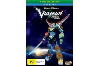 Voltron Legendary Defender Seasons 1 & 2 DVD Region 4