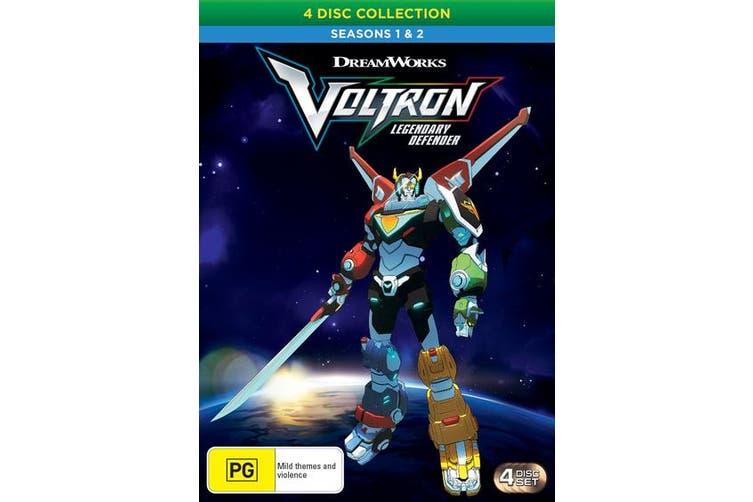 Voltron Legendary Defender Seasons 1 & 2 DVD Region 4