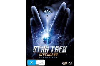 Star Trek Discovery Season 1 DVD Region 4