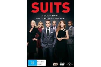 Suits Season 8 Part Two DVD Region 4