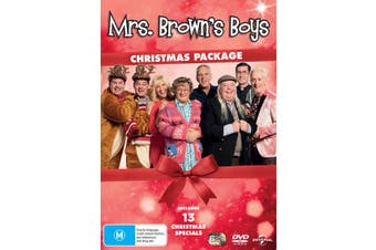 Mrs Browns Boys Christmas Package Box Set DVD Region 4
